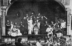 Flamenco antiguo: Cantaores flamencos en el Café del Burrero