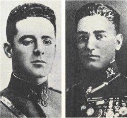 Los Capitanes Fermín Galán y Ángel García Hernández
