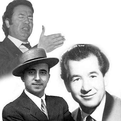 Pepe Pinto, Juanito Valderrama y Fosforito